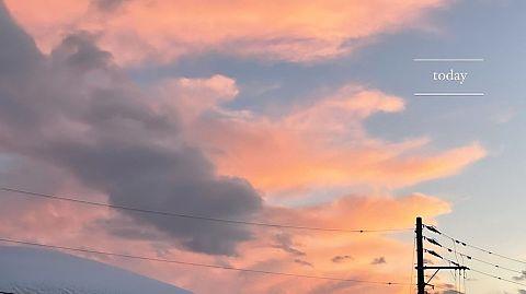 夕方の空の画像(プリ画像)