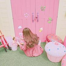 ピンクの画像(女の子 後ろ姿に関連した画像)