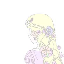 ラプンツェル イラスト 花の画像20点完全無料画像検索のプリ画像bygmo