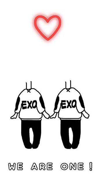 EXO加工の画像 プリ画像