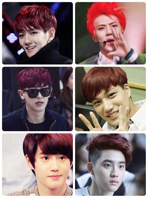 EXO-K赤髪まとめの画像 プリ画像