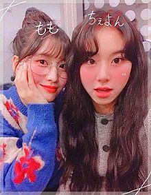 モモ♡チェヨン♡の画像(チェンに関連した画像)