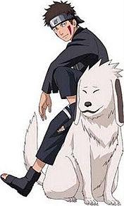 NARUTO 犬塚キバ プリ画像