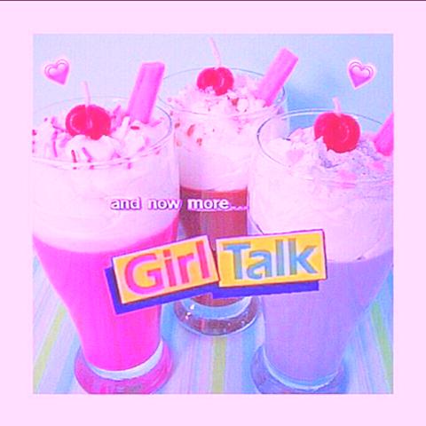 GIRL TALKの画像(プリ画像)