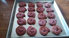 紫芋と岩塩のクッキーの画像(紫芋に関連した画像)