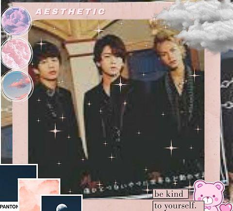 KATーTUNで画像加工してみた( ´,,•ω•,,`)♡の画像 プリ画像