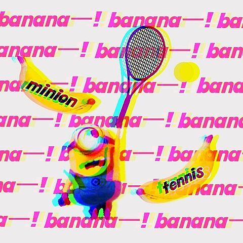 ミニオンテニス!の画像(プリ画像)