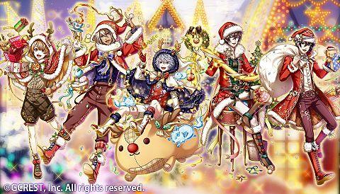 夢王国と眠れる100人の王子様  クリスマスVer.の画像 プリ画像