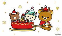 Rilakkuma Christmas プリ画像