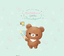 リラックマ 壁紙の画像(クマに関連した画像)