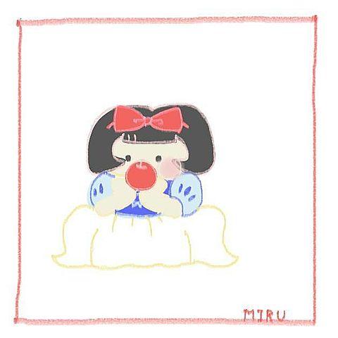 白雪姫りんごの画像 プリ画像