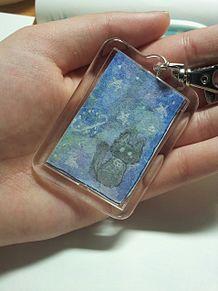 ストラップ作ったンゴの画像(水彩画に関連した画像)