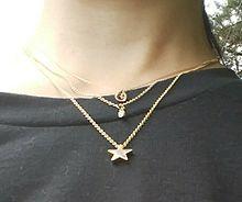 ネックレス(1番下から星、ダイヤ、水滴)の形の画像(下からに関連した画像)