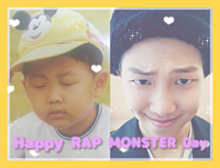 ♡Happy RAP MONSTER Day♡の画像(プリ画像)