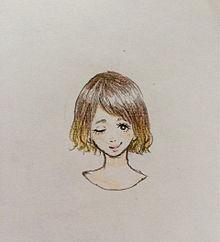 ショートヘア プリ画像