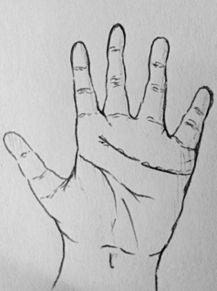 手の画像(手相に関連した画像)
