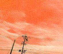 夕焼け プリ画像