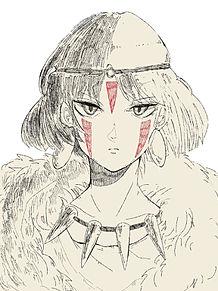 もののけ姫 イラストの画像164点完全無料画像検索のプリ画像bygmo