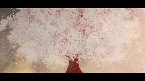 桜花二月夜ト袖シグレの画像(プリ画像)