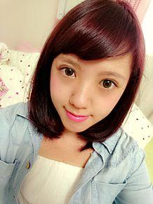 ピンクの髪の毛の画像(ナチュラルメイクに関連した画像)