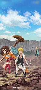 七つの大罪グランドクロスダウンロード画面アニメ画風の画像(クロスに関連した画像)
