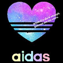 adidas 黒Ver.の画像(プリ画像)