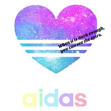 adidas 白Ver.の画像(プリ画像)
