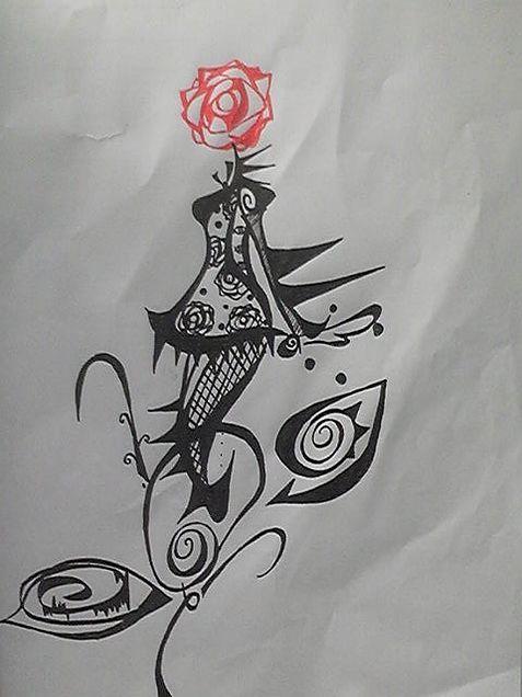 薔薇乙女の画像(プリ画像)