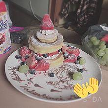 パンケーキ プリ画像
