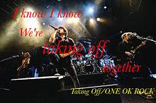 ONE OK ROCK Taking offの画像(プリ画像)
