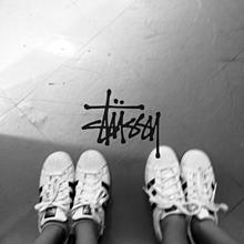 靴おそろ✨ステューシーの画像(靴に関連した画像)