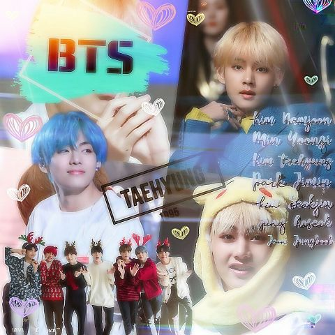 BTS  V  加工の画像(プリ画像)