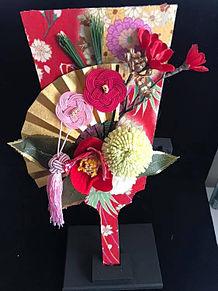 羽子板の花アレンジ おしゃれの画像(羽子板に関連した画像)