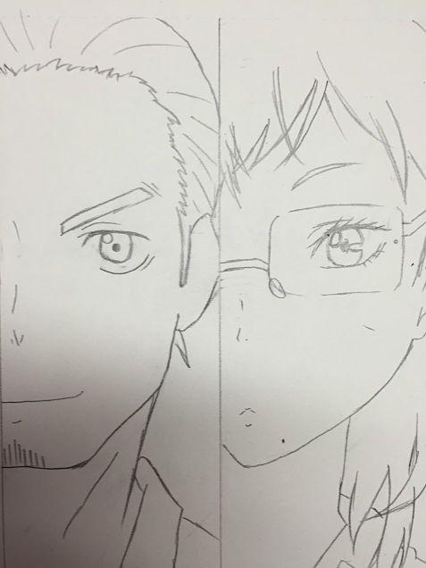 旭さんと潔子さん!の画像(プリ画像)