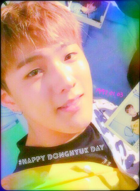 iKON DONGHYUK Happybirthdayの画像(プリ画像)