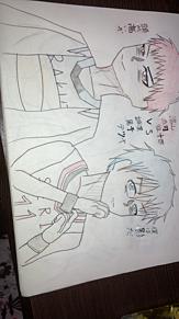 赤司VS黒子の画像(黒バスに関連した画像)