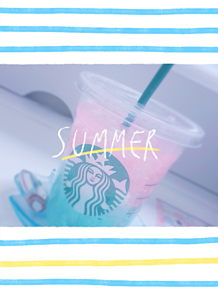 Summer vacation 🍉🌴 プリ画像