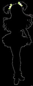 アイカツフレンズの画像(シルエットに関連した画像)