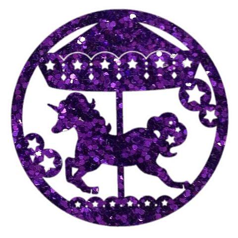 紫 メリーゴーランドの画像 プリ画像