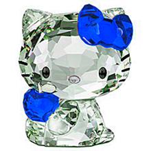 キティちゃん 青色 水色 スカイブルー プリ画像