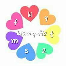 kis-my-ft2  キスマイカラー⚡の画像(プリ画像)