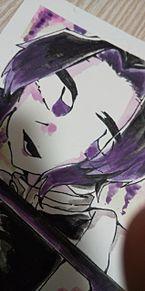 鬼滅の刃 胡蝶しのぶの画像(水彩に関連した画像)