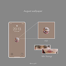 BTS August Wallpaperの画像(#Vに関連した画像)