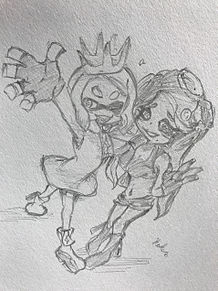 ぬりたく〜る!!!テンタクルズ💕の画像(ココロのラクガキに関連した画像)