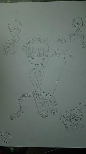 猫モブくんの画像(プリ画像)