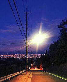 夜の画像(街灯に関連した画像)