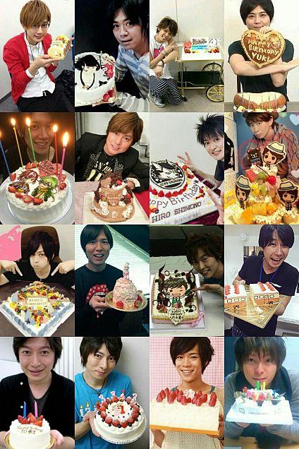 私の好きな声優さん 誕生日ケーキ編🎂の画像(プリ画像)