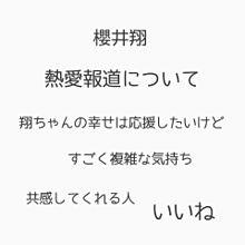 嵐 櫻 井 翔の画像(プリ画像)