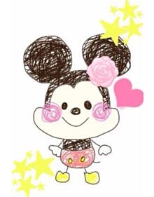 みっきーの画像(かわいい イラスト ミッキーマウスに関連した画像)