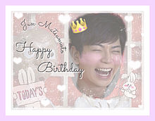 (♡) Happy Birthday Jun .。